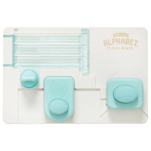 Mini Alphabet Punch Board - We R Memory Keepers (SD663004)