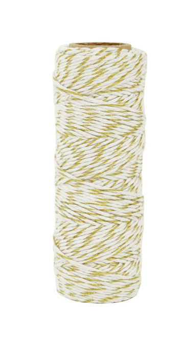 Kaisercraft- Lucky Dip Metallic Hemp Cord│ Gold