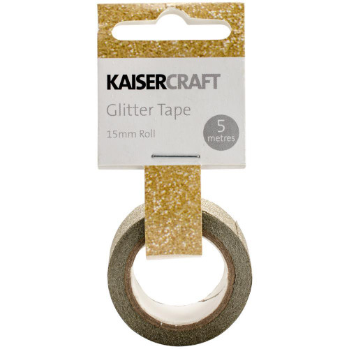 Kaisercraft- Glitter Tape in Gold (SDPT227