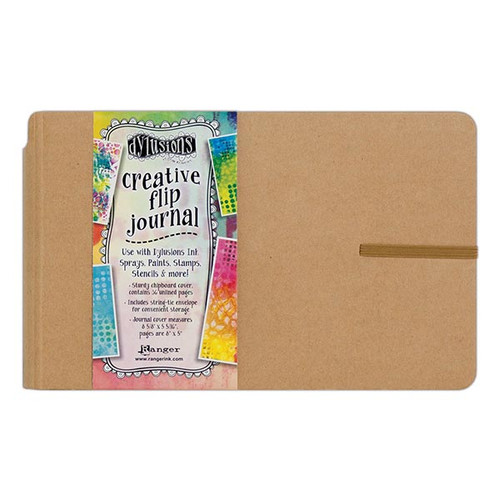 Ranger/ Dyan Reaveley- Dylusions Creative Flip Journal (small) (SDDYJ53576)