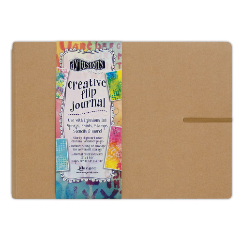 Ranger/ Dyan Reaveley- Dylusions Creative Flip Journal (Large)