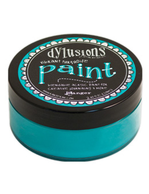 Ranger/ Dyan Reaveley - Dylusions Paint - Vibrant Turquoise (SDDYP46042)