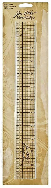 Tim Holtz Idea-Ology Design Ruler (SDTH92481)