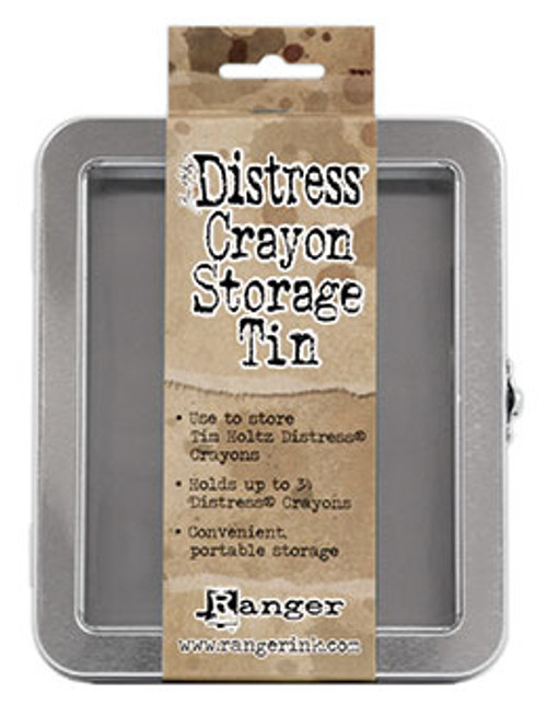 Ranger/ Tim Holtz Distress Crayon Storage Tin (SDTDA56485)