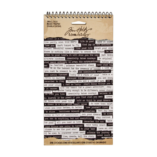 Tim Holtz Idea-ology Small Talk Stickers (SDTH93193)