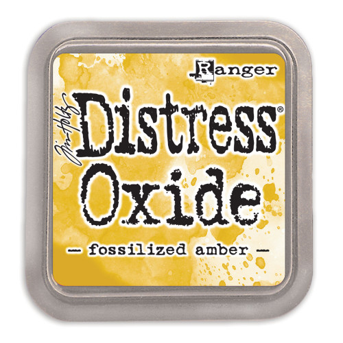 Ranger/ Tim Holtz Distress Oxide Ink Pad- Fossilized Amber (SDTDO55983)