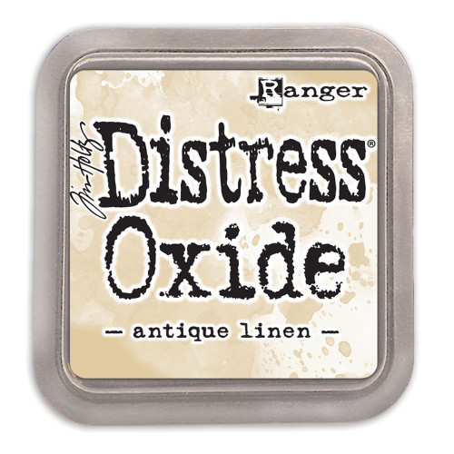 Ranger/ Tim Holtz Distress Oxide Ink Pad- Antique Linen (SDTDO55792)
