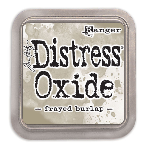 Ranger/ Tim Holtz Distress Oxide Ink Pad- Frayed Burlap (SDTDO55990)