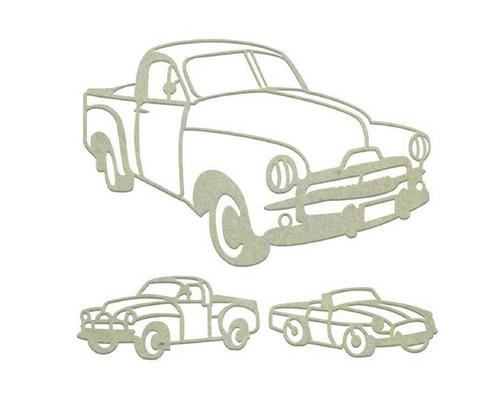 Aussie Vehicles Set -Chipboard (3pc)