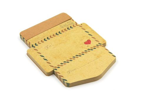 Mini Vintage Foldable Envelope Notepad