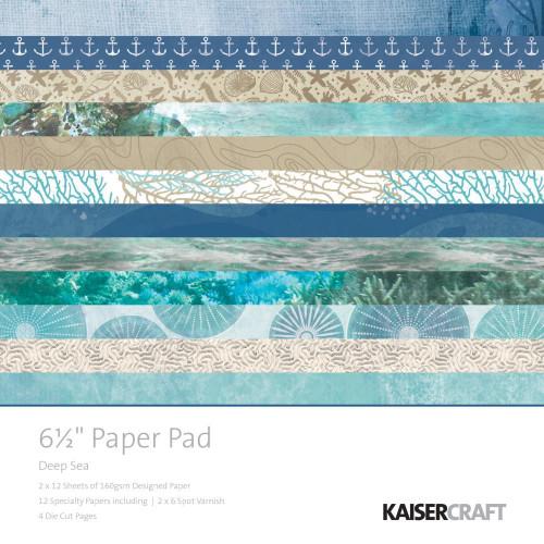 Kaisercraft - Deep Sea 6.5 Paper Pad
