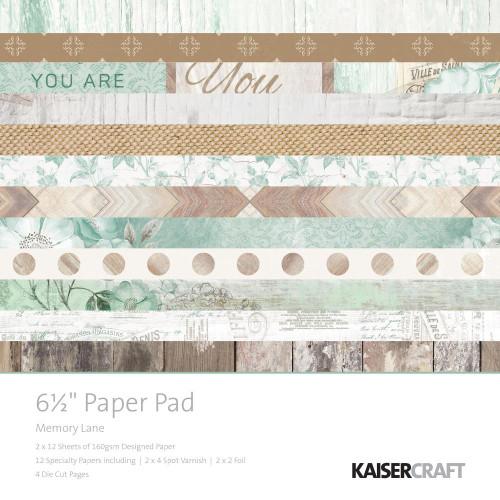 """Kaisercraft - Memory Lane 6.5"""" Paper Pad"""