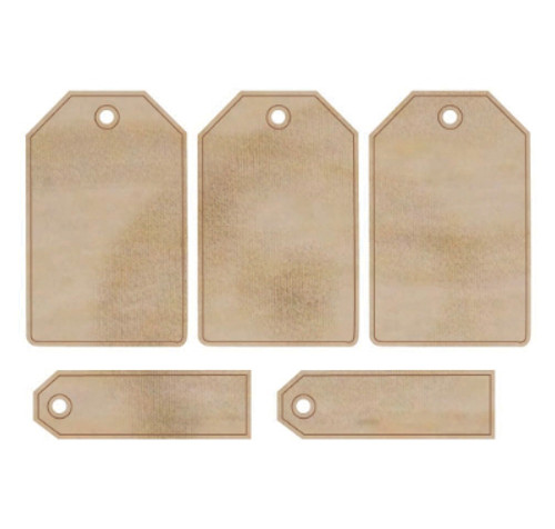 Kaisercraft Wooden Flourishes - Tags