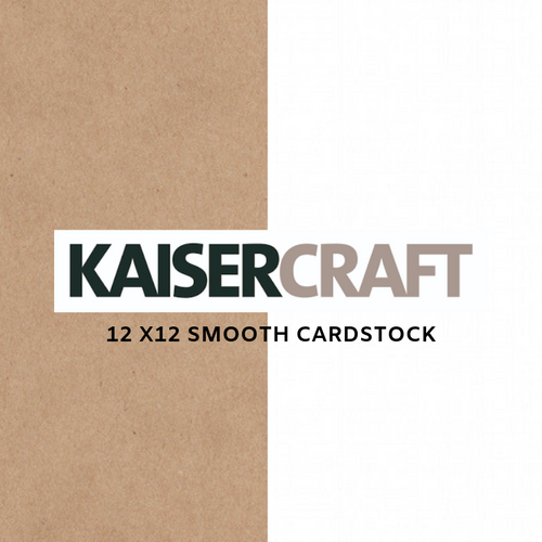 Kaisercraft 12x12│ Smooth Cardstock