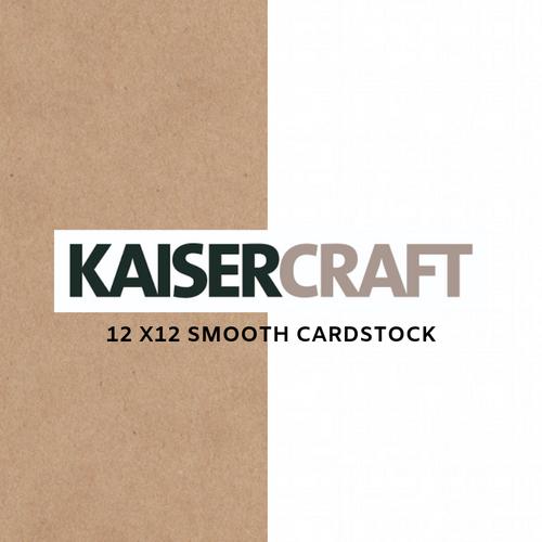 Kaisercraft 12x12│ Smooth Cardstock