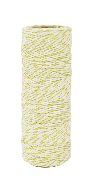 Kaisercraft- Lucky Dip Metallic Hemp Cord│ Lemon