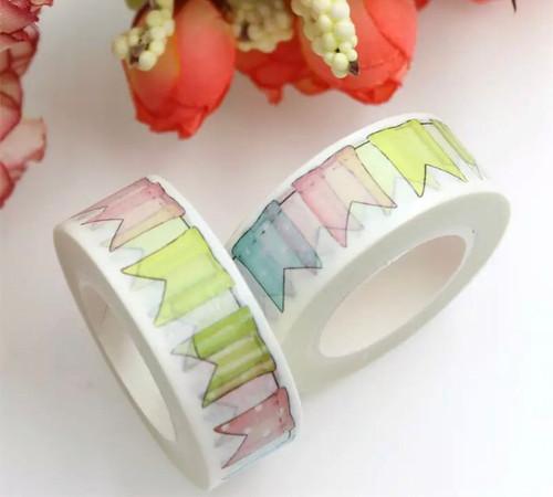 Washi Tape-  Bunting