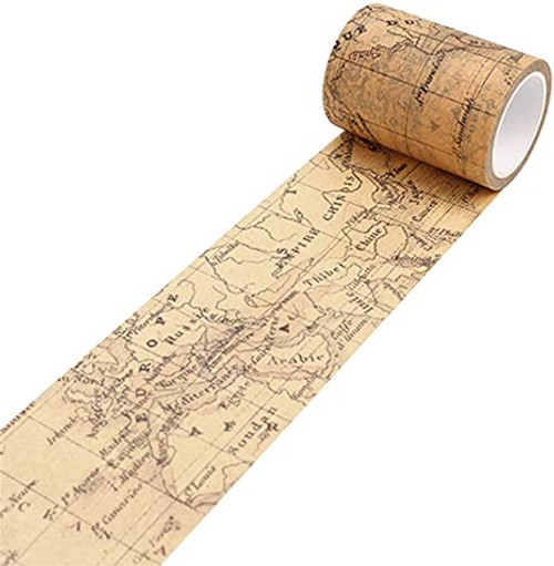 Washi Tape-  Vintage Map