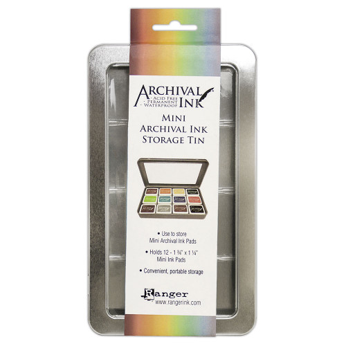 Archival Ink Mini Storage Tin