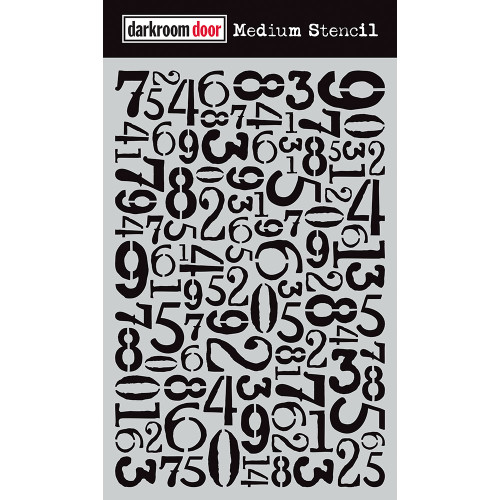 Medium Stencil - Number Jumble