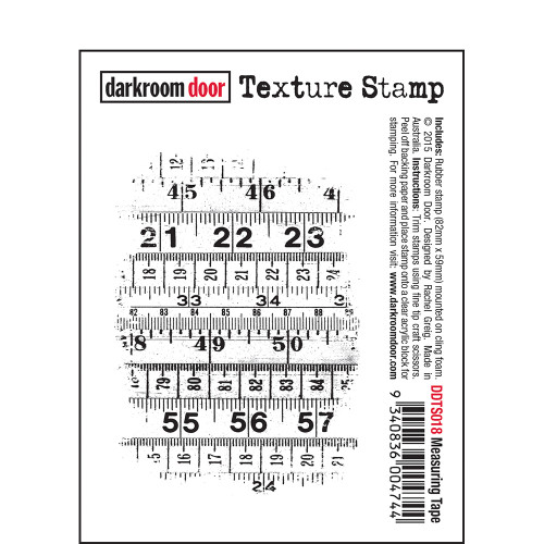 Texture Stamp - Measuring Tape
