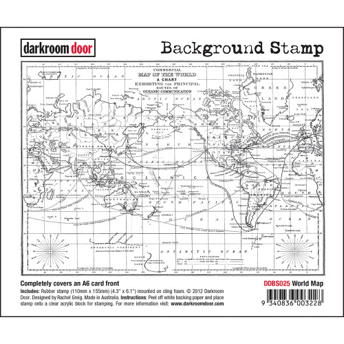 Background Stamp -  World Map