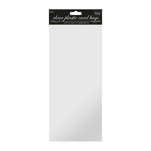 Tall Self Sealing Clear Bags - (50pk)