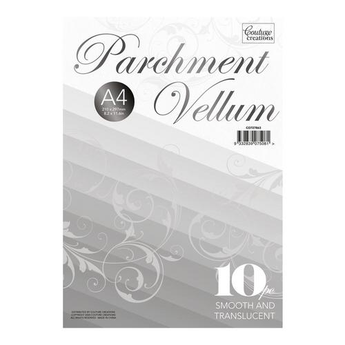 A4 Parchment Vellum-  -  10pc