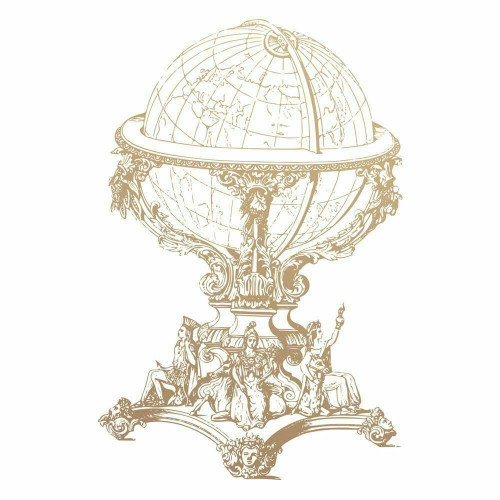 Mini Stamp│Vintage Globe (1pc)