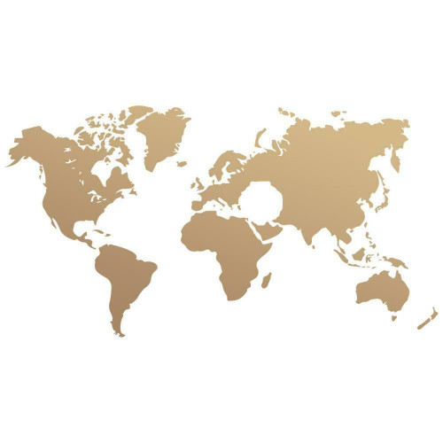 Mini Stamp│World Map (1pc)