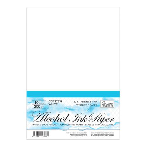 """Yupo Paper │ White 5"""" x 7"""""""