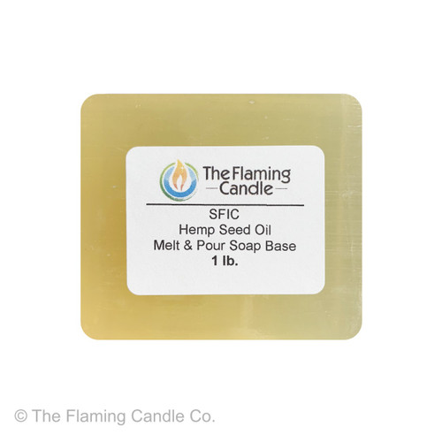 SFIC Hemp Seed Oil Melt and Pour Soap Base