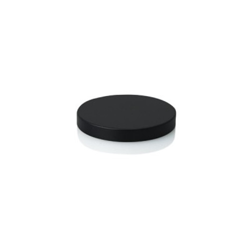Oxford/Cambridge Large Metal Lid - Black