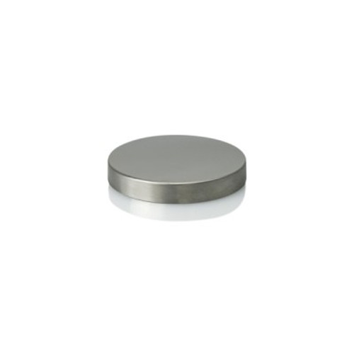 Oxford/Cambridge Large Metal Lid - Stainless Mirror