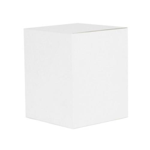 Oxford/Cambridge Large Candle Box - White