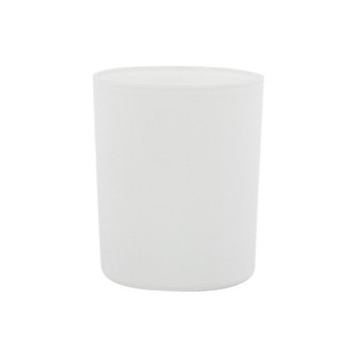 Oxford Matte White Large Jars - 1 dozen.