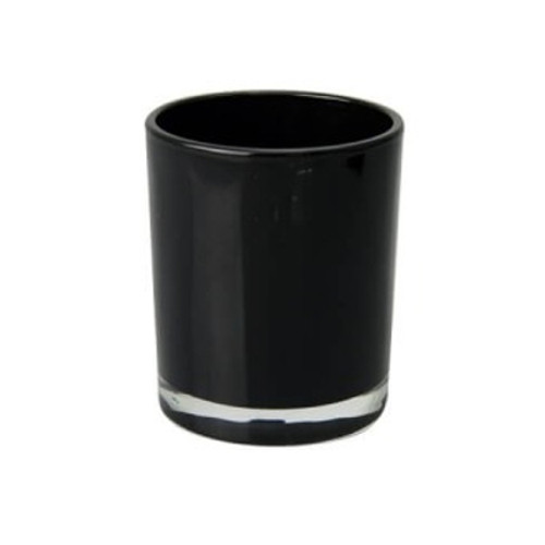 Oxford Opaque Black Extra Large Jars - 1 dozen.