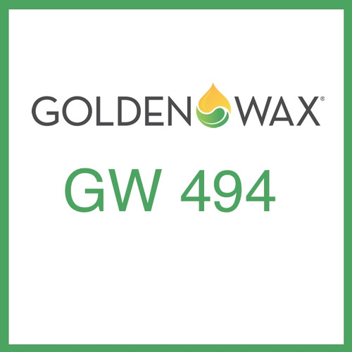 Golden Wax (GW) 494 Wax Melt and Tart Soy Wax