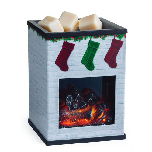 Holiday Fireplace Tart Warmer