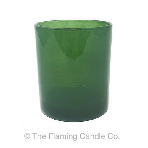 Oxford Green Transparent Large Jars - 1 dozen.