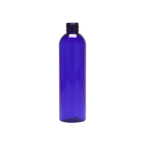 PET Bullet Bottle - Cobalt Blue - 8 oz.