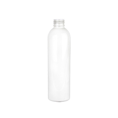 PET Bullet Bottle - White - 8 oz.