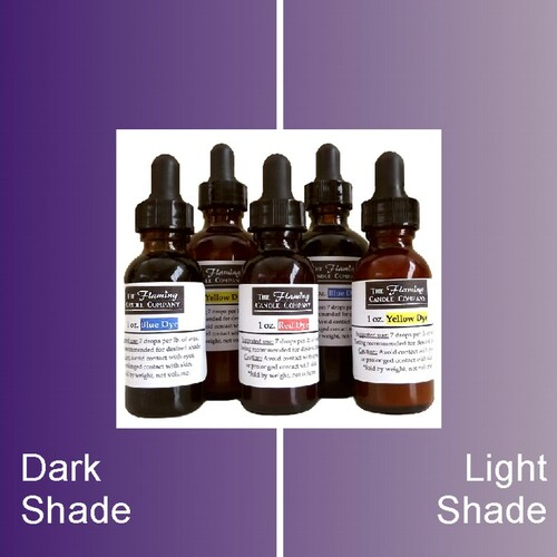 Purple Liquid Candle Dye
