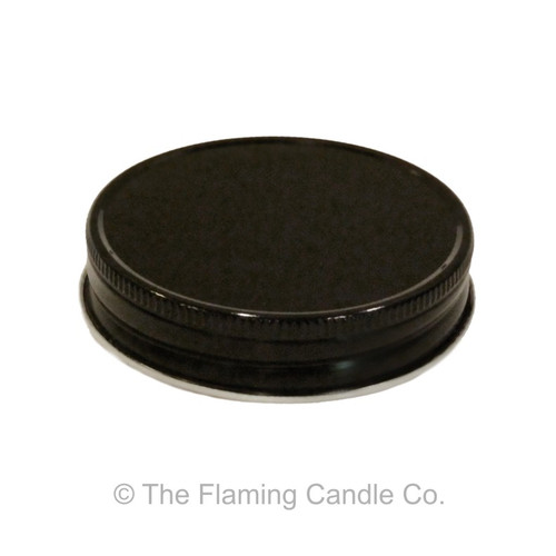 Jelly Jar Lids - Black