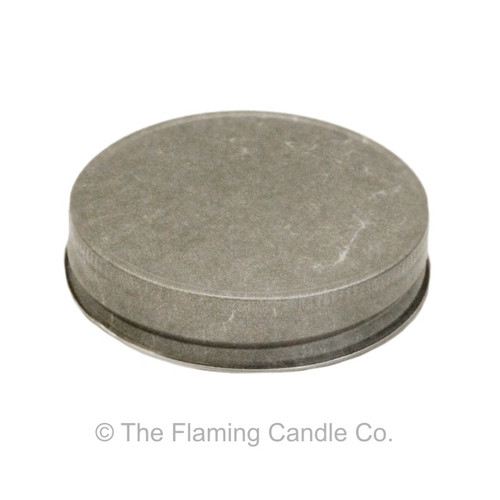 Jelly Jar Lids - Pewter