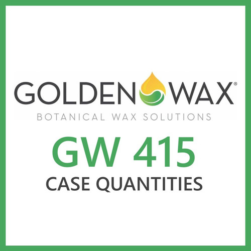 Golden Brands GW 415 Soy Wax Flakes - 45 lb. Case