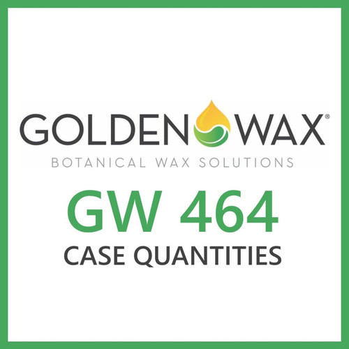 Golden Brands GW 464 Soy Wax Flakes - 45 lb. Case