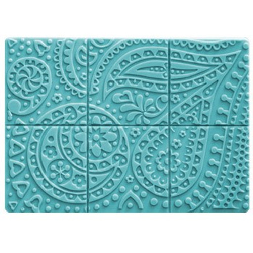 Tray Paisley Soap Mold