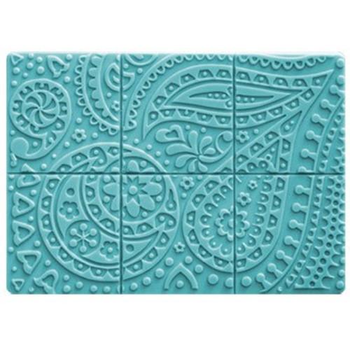 Tray Paisley Soap Mold