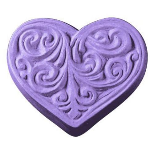 Victorian Heart Soap Mold